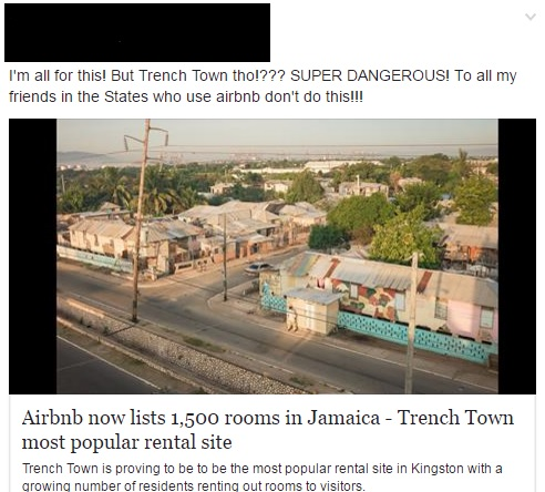 Trench Town Social media